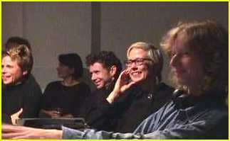 Anne, Ruth, and Paul Jeukendrup in the audience