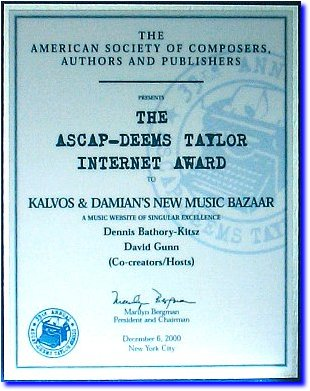 ASCAP-Deems Taylor Award