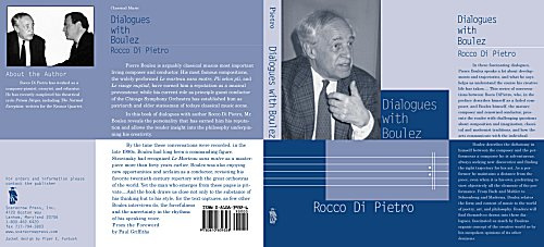 Cover of DiPietro Conversations with Boulez book
