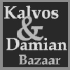 Kalvos and Damian Logo