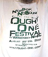 Ought-One Festival TShirt